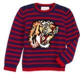Gucci Infant Intarsia Tiger Wool Sweater