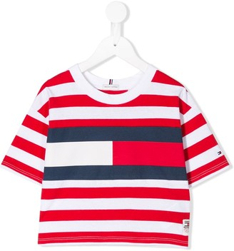 Tommy Hilfiger Junior striped T-shirt