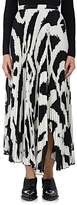 Proenza Schouler Women's Pleated Graffiti-Print Midi-Skirt