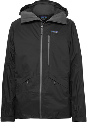 Patagonia Insulated Snowshot H2no Performance Standard Micro-Twill Hooded Ski Jacket