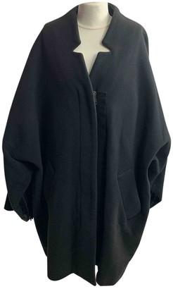 Acne Studios Anthracite Wool Coat for Women