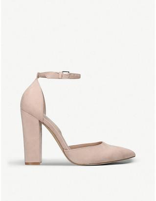Aldo Nicholes pointed-toe suede heels
