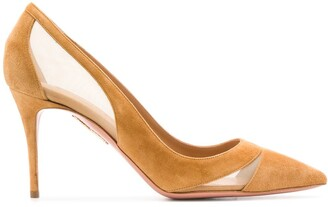 Aquazzura Savoy 85mm pumps