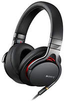 Sony MDR-1A On-Ear Headphones with Mic/Remote, Black
