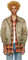 Fear Of God Ssense Exclusive Khaki The Harrington Bomber Jacket