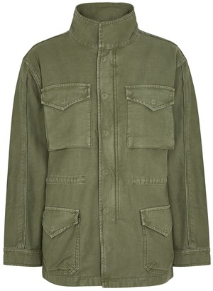 Frame Service green cotton cargo jacket
