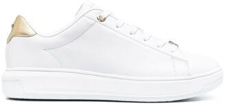 Tommy Hilfiger Metallic-Panel Low-Top Sneakers