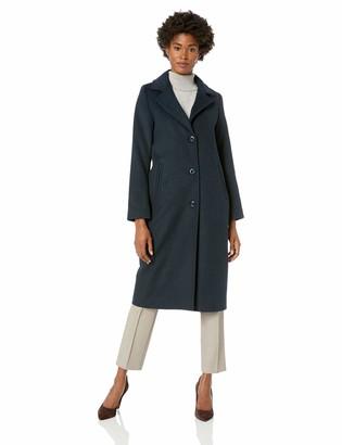Jones New York Women's Long Wool Coat