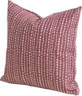 "Johnsie Throw Pillow Bayou Breeze Size: 16"" H x 16"" W x 6"" D, Color: Emerald"