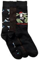 Tommy Bahama Holiday Socks Gift Box Set - Pack of 3