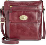 Giani Bernini Glazed Turnlock Crossbody, Created for Macy's