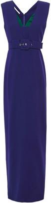 Antonio Berardi Belted Crepe Gown
