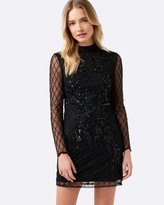 Forever New Michelle Embellished Dress