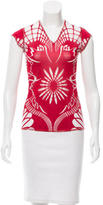Jean Paul Gaultier Patterned Short Sleeve Top