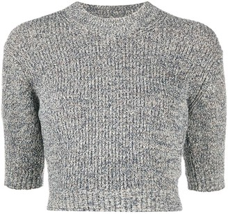Kenzo Cropped Knitted Jumper