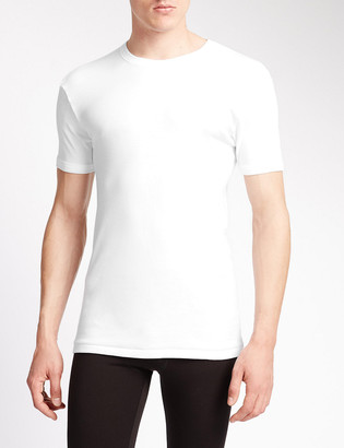 Marks and Spencer 2 Pack Pure Cotton T-Shirt Vests