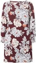 Dorothy Perkins Burgundy Floral Shift Dress