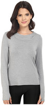 Trina Turk Jersey Long Sleeve Hooded Top