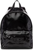 Givenchy Black Shiny Logo Backpack