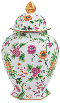 Port 68 Portsmouth Pineapple Jar - Pink 21""