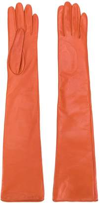 Manokhi long classic gloves