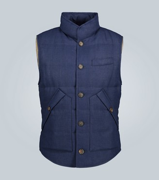 Brunello Cucinelli Down-filled gilet