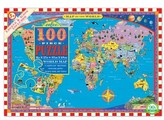 Eeboo Toddler World Map Jigsaw Puzzle