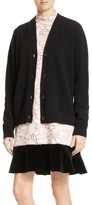 N°21 Women's N?21 Lace Back Wool Blend Cardigan
