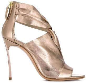 Casadei twist front sandals