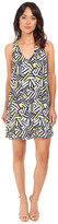 Brigitte Bailey Minna V-Neck Printed Swing Dress