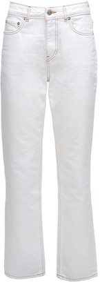 Ganni Organic Cotton Denim Straight Jeans