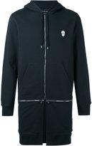 Alexander McQueen skull patch hoodie - men - Cotton - XS