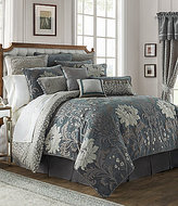 Waterford Ansonia Floral Jacquard Comforter Set