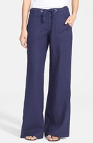 Joie Women's Wide Leg Linen Pants