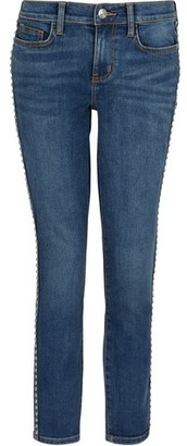 Current/Elliott The Caballo Stiletto studded jeans