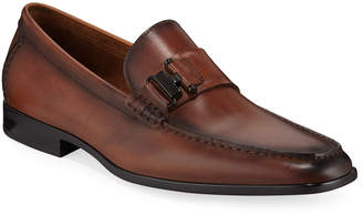 Kenneth Cole Aaron Single-Monk Leather Loafer