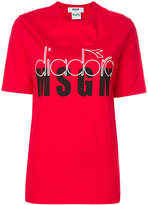 MSGM X Diadora branded T-shirt