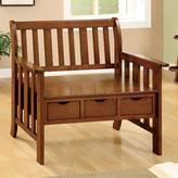 Home Decorators Collection Oak Storage Bench