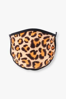 Forever 21 Leopard Print Face Mask