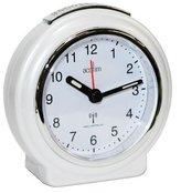 Acctim 71252 Pegasus Radio Controlled Alarm Clock, Pearl