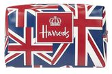 Harrods Vintage Flag Cosmetic Bag