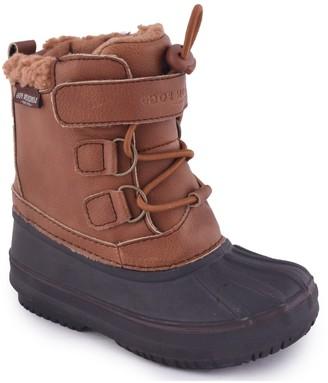 London Fog Oxford Toddler Boys' Waterproof Winter Boots