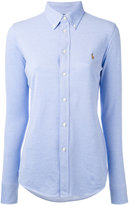 Polo Ralph Lauren embroidered logo shirt - women - Cotton - M