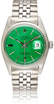 Vintage Watch Women's Vintage Oyster Perpetual Datejust Watch-GREEN