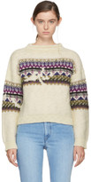 Etoile Isabel Marant Off-white Elsey Sweater