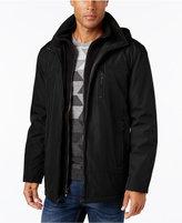 Calvin Klein Men's Hooded Fleece Lined Coat