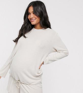 ASOS DESIGN Maternity mix & match lounge super soft sweat