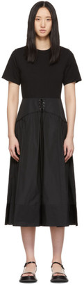 3.1 Phillip Lim Black T-Shirt Dress
