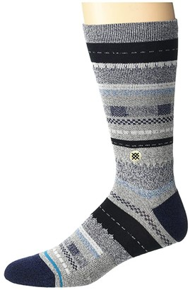 Stance Tucked In (Black) Crew Cut Socks Shoes