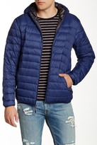 Hawke & Co Hooded Packable Water Resistant Down Jacket